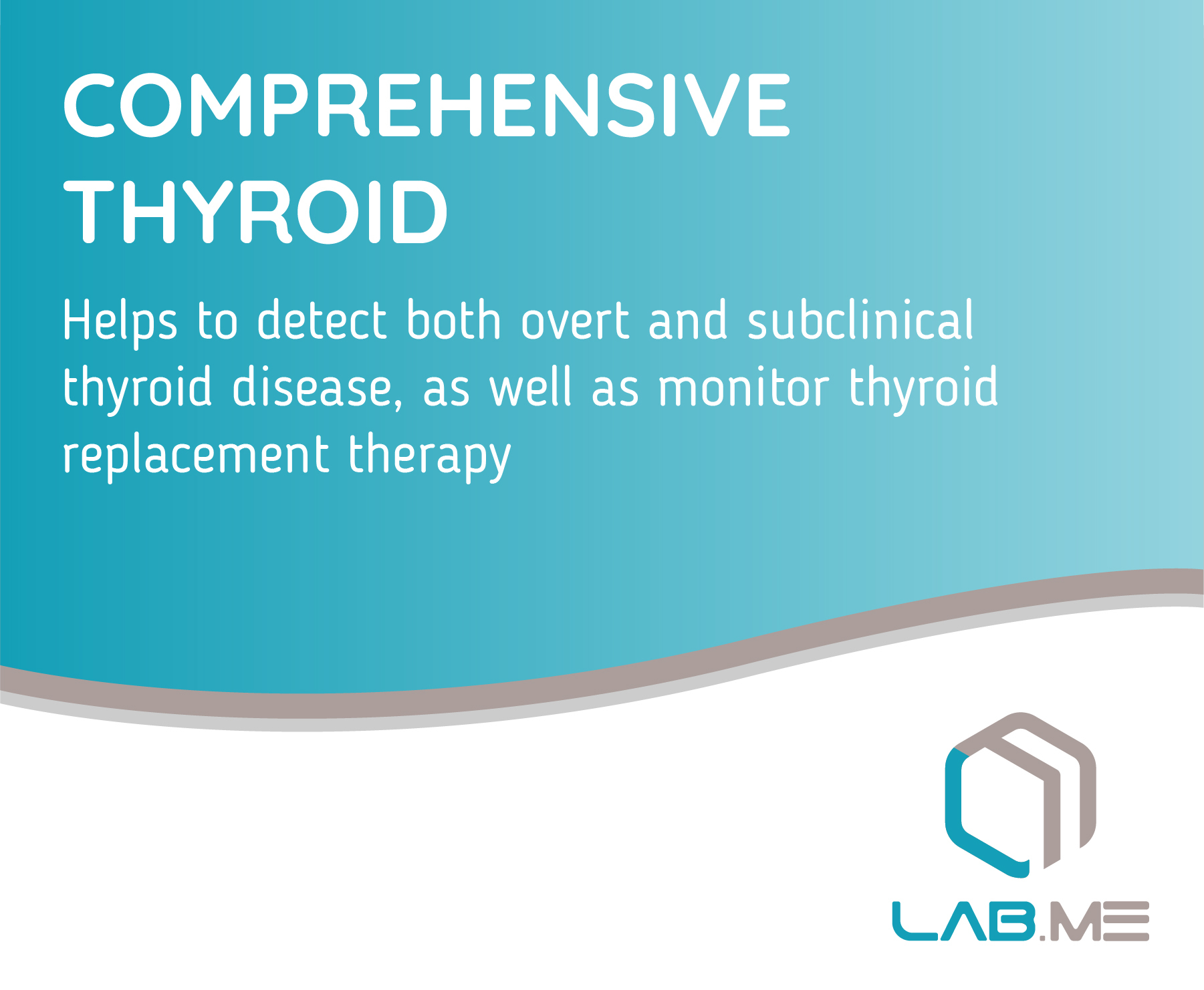 At Home Comprehensive Thyroid Test